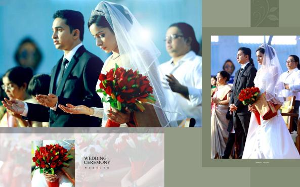 Wedding ceremony: Nileena weds Shantin | A Roman Catholic Syrian Christian Wedding