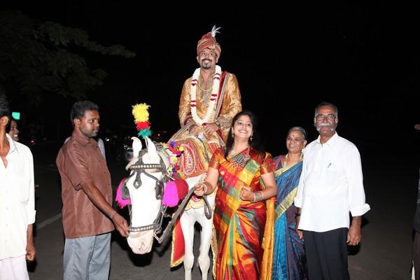 Baraat-Mookambika  Naidu weds Prasannaa C Murli | A Thamizh- Telugu wedding
