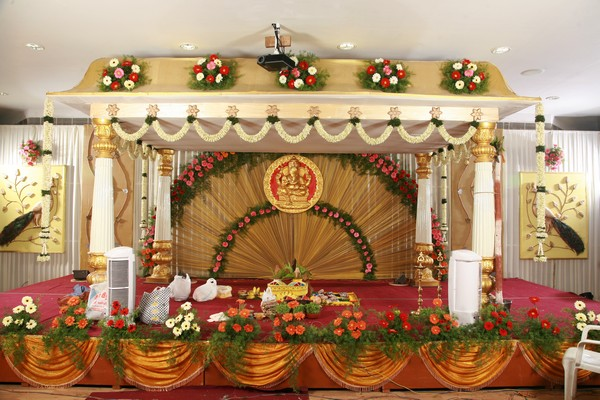 Thamizh- Telugu wedding Marriage hall