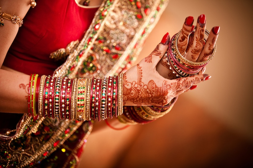 bangles- Indian Bridal adornents