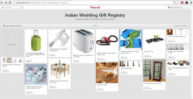8 tips on how to create an Indian wedding registry, and your wish list.